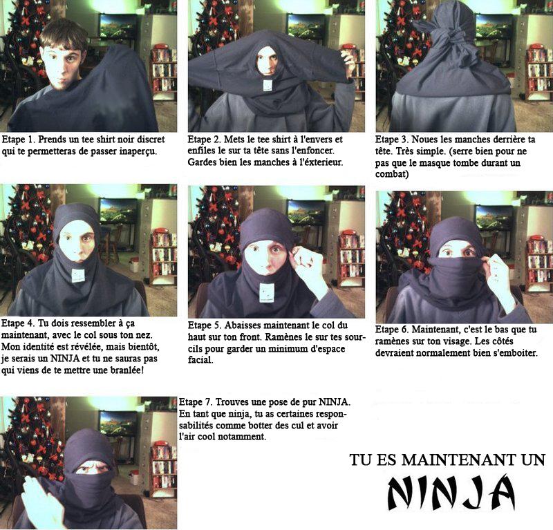 comment devenir un ninja