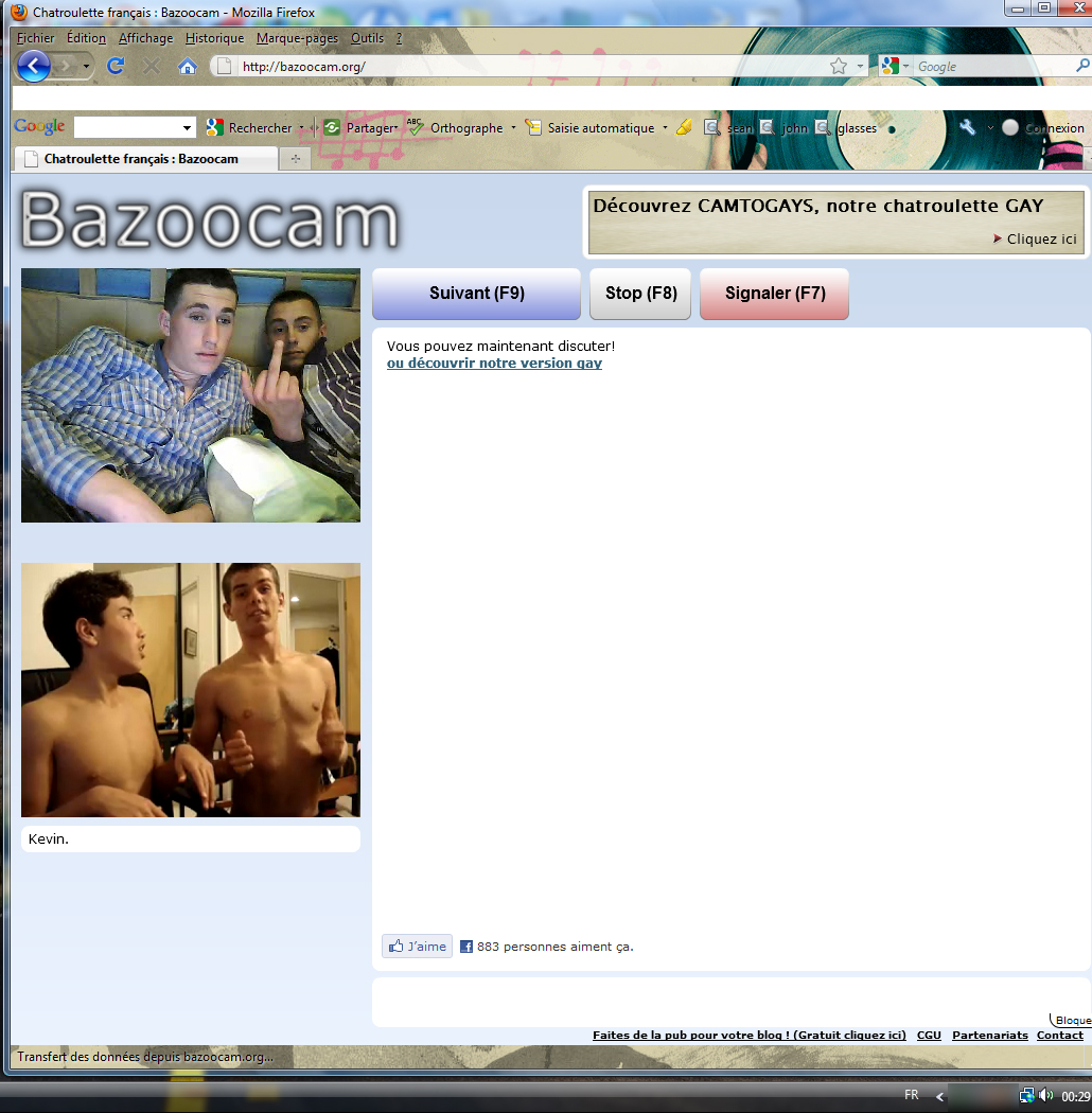 Topic Fail On Chatroulette