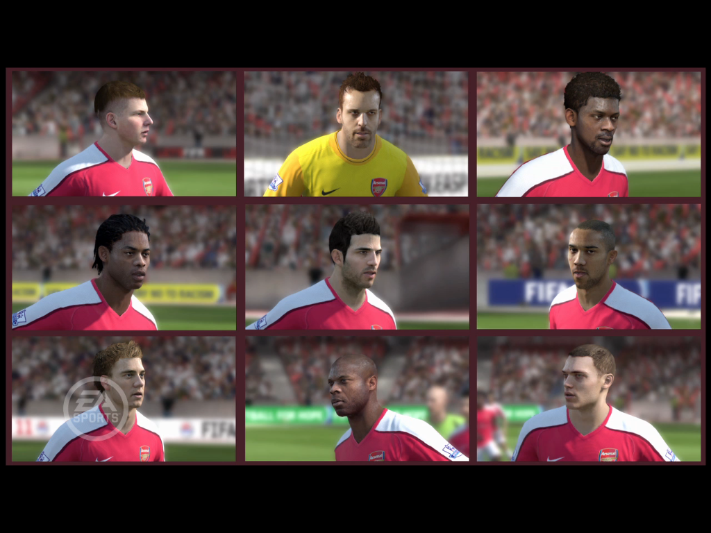Who is the most handsome guy in FIFA 11.