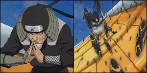 Sarutobi Hiruzen & Shiranui Genma VS Yagura & Kurogane Shion 15350106965787_shuriken_kage_bunshin