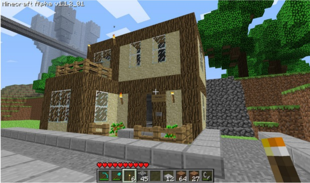 Refus candidature architek - Construction minecraft maison ...