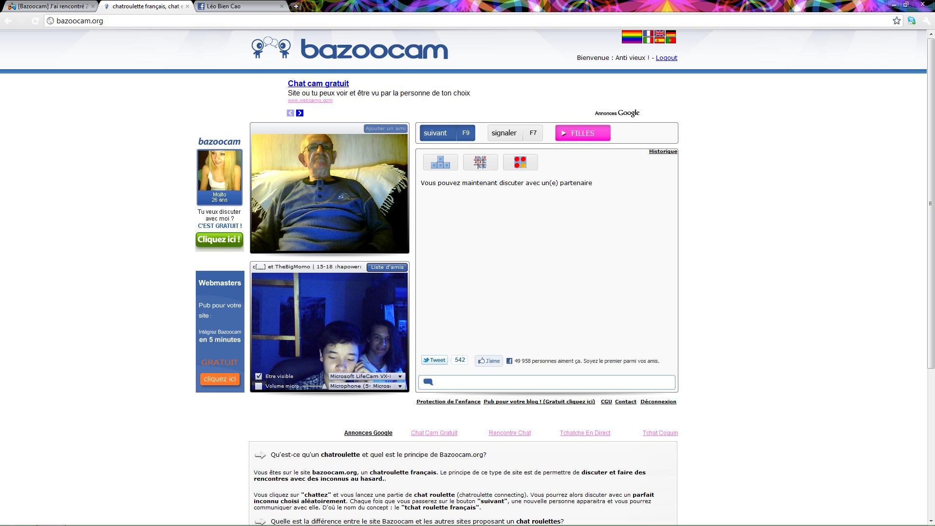Bazoocam site de rencontre