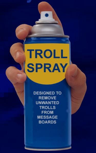 Qu'est ce que le terrorisme verbale, Malhonnêteté intellectuelle, moqueries et cancanages  1317717599-spray_antitroll