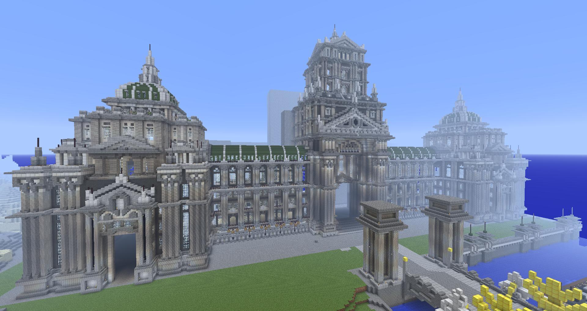 Grande ville imp riale page 2 wtcraft forum minecraft - Video de minecraft ville ...