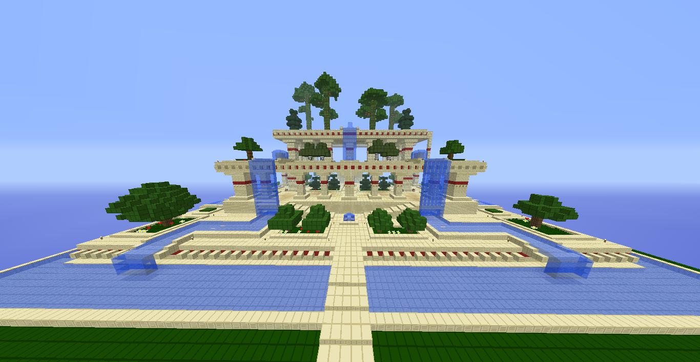 jardin minecraft Topic [C] - Les Jardins suspendus de Babylone