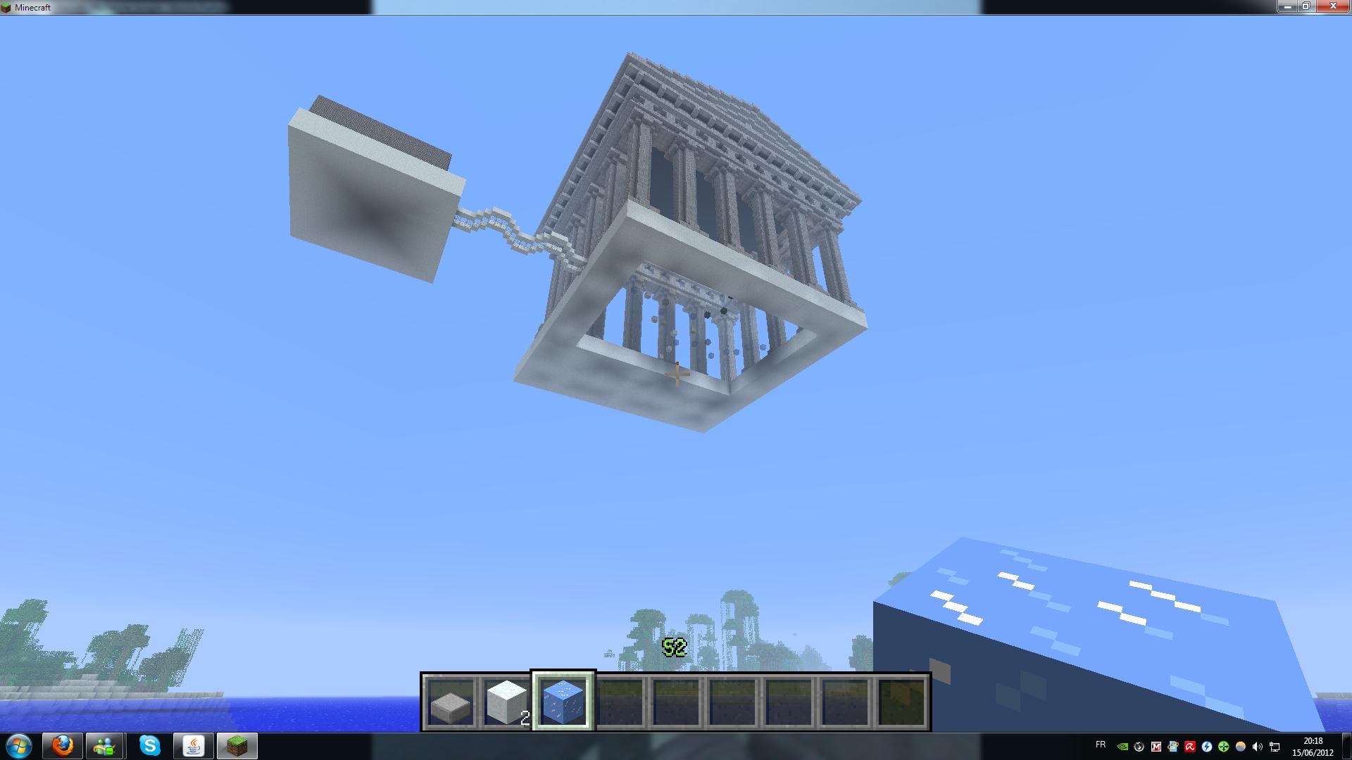 Minecraft la construction du si cle sur le forum blabla 15 18 ans 15 06 2 - Video minecraft construction ...