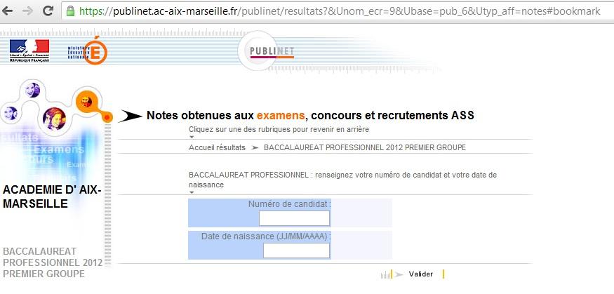 Resultats bac academie grenoble 2012 - Resultat bac pro cuisine ...