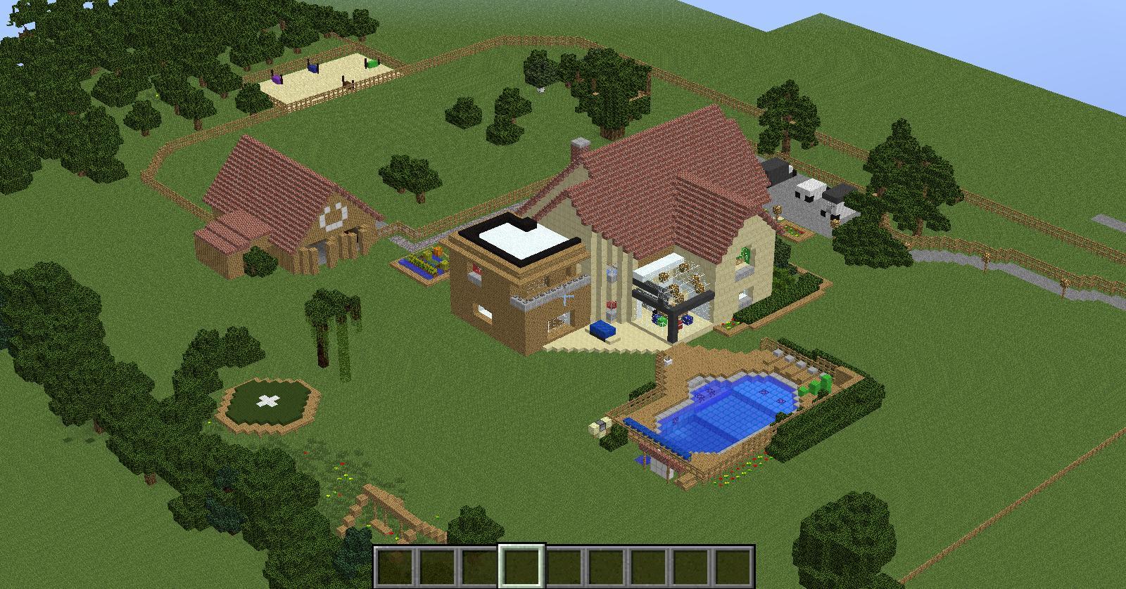 MAP ma maison IRL dans Minecraft sur le forum Minecraft