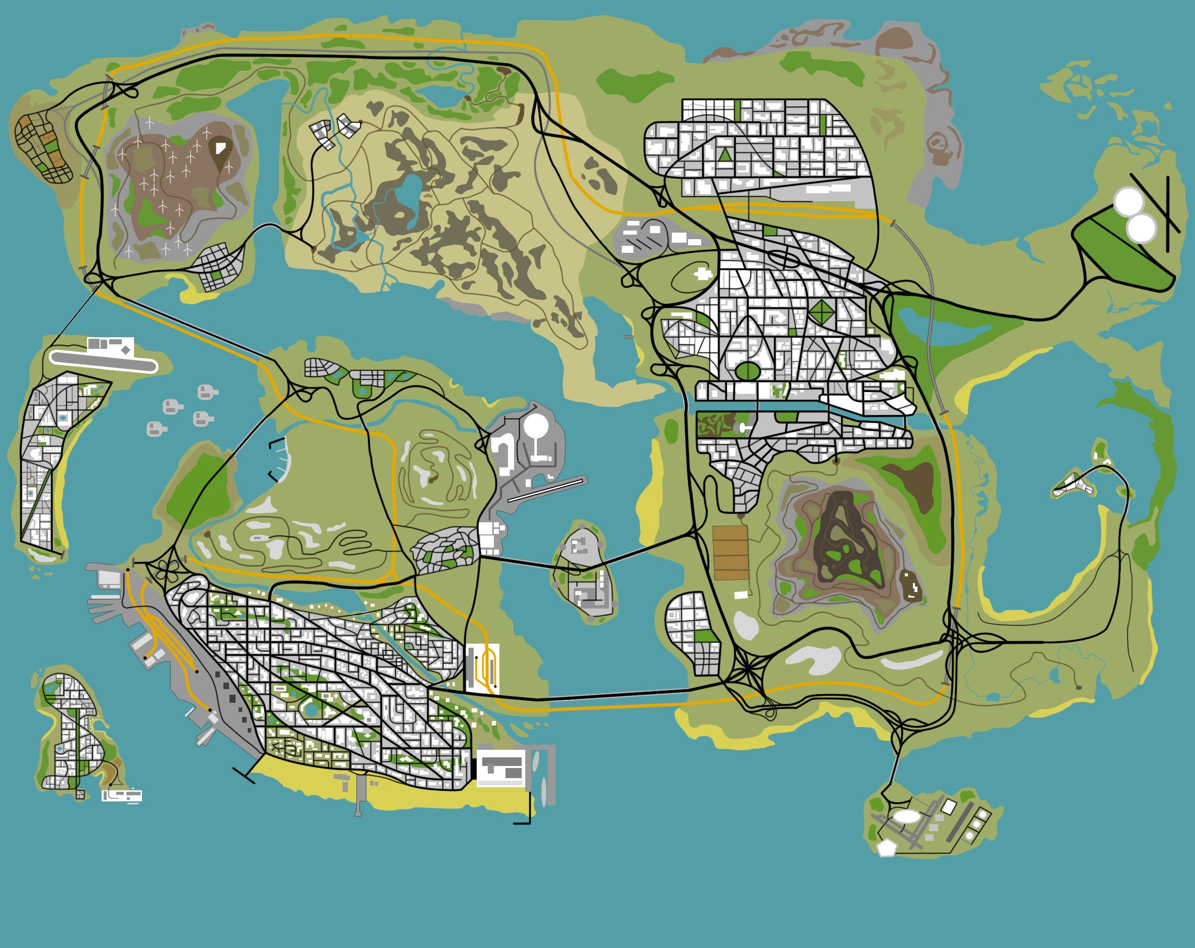 Создание карт для GTA 5: 5 программ на ГТА 5 - LibertyCity