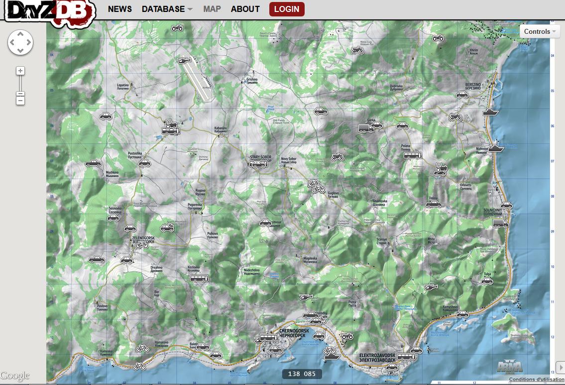 DayZ] C\'est quoi cette map de DayZDB ? sur le forum ArmA II - 25-07 ...