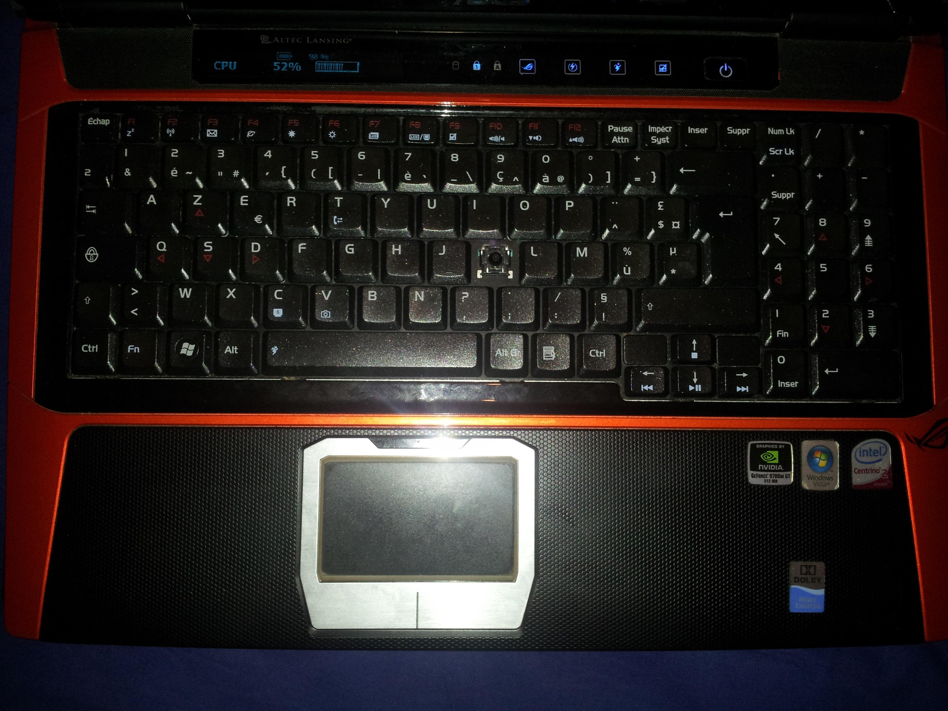 vds pc portable asus g50v ecran cass sur le forum mat riel informatique 21 10 2012 19 12 45. Black Bedroom Furniture Sets. Home Design Ideas