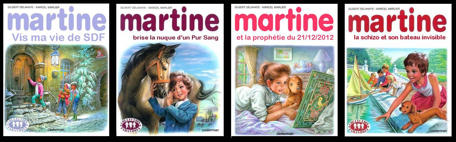 Humour Fake Couvertures Martine Sur Le Forum Blabla 18 25