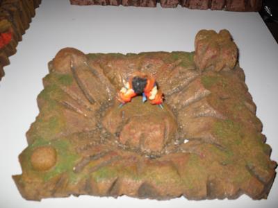 Vds d cors pour figurines dragon ball sur le forum for Decoration murale dragon ball