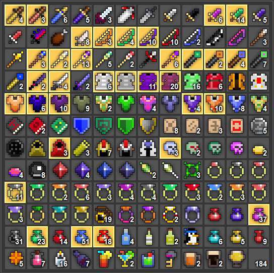 realm of the mad god gear guide