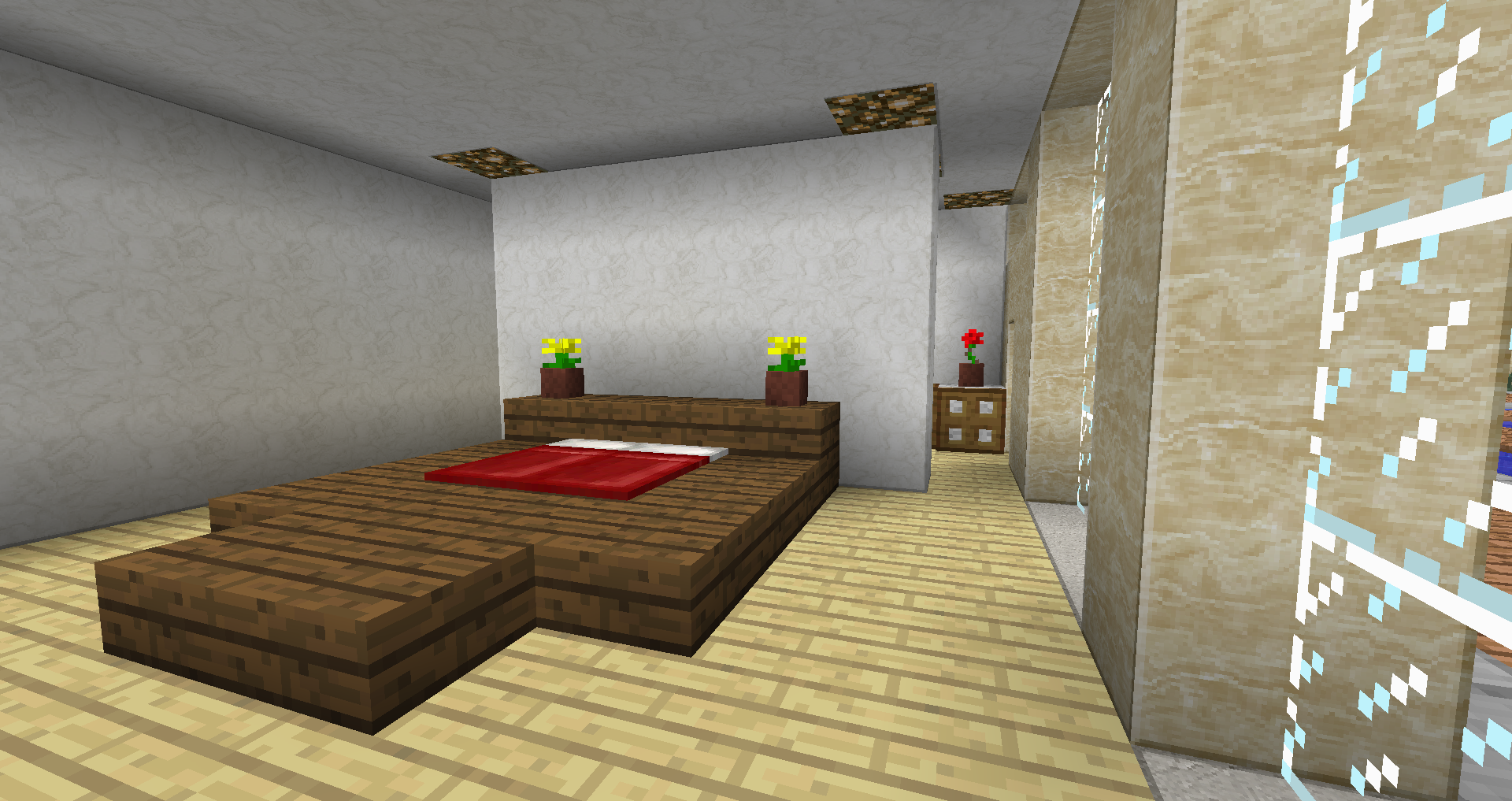 villa minecraft sur le forum minecraft 24 02 2013 22 16 23. Black Bedroom Furniture Sets. Home Design Ideas