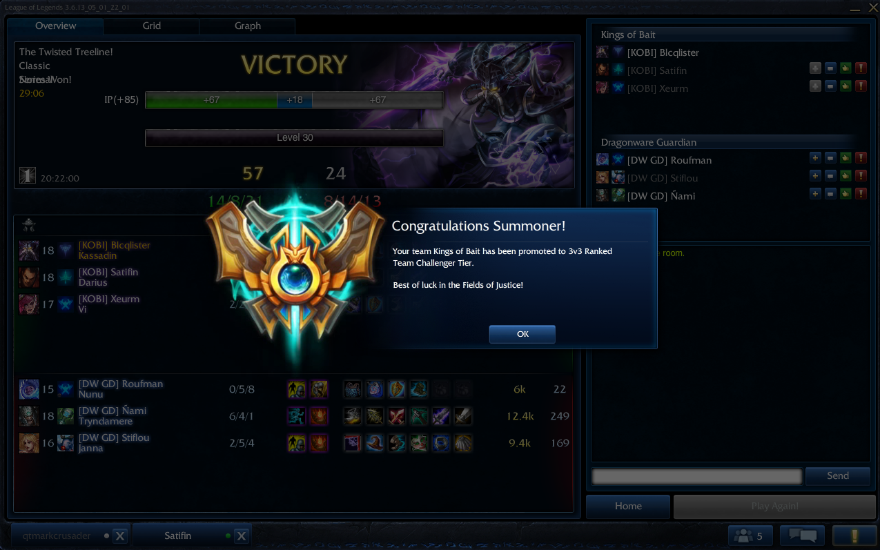 league how to get to challenger