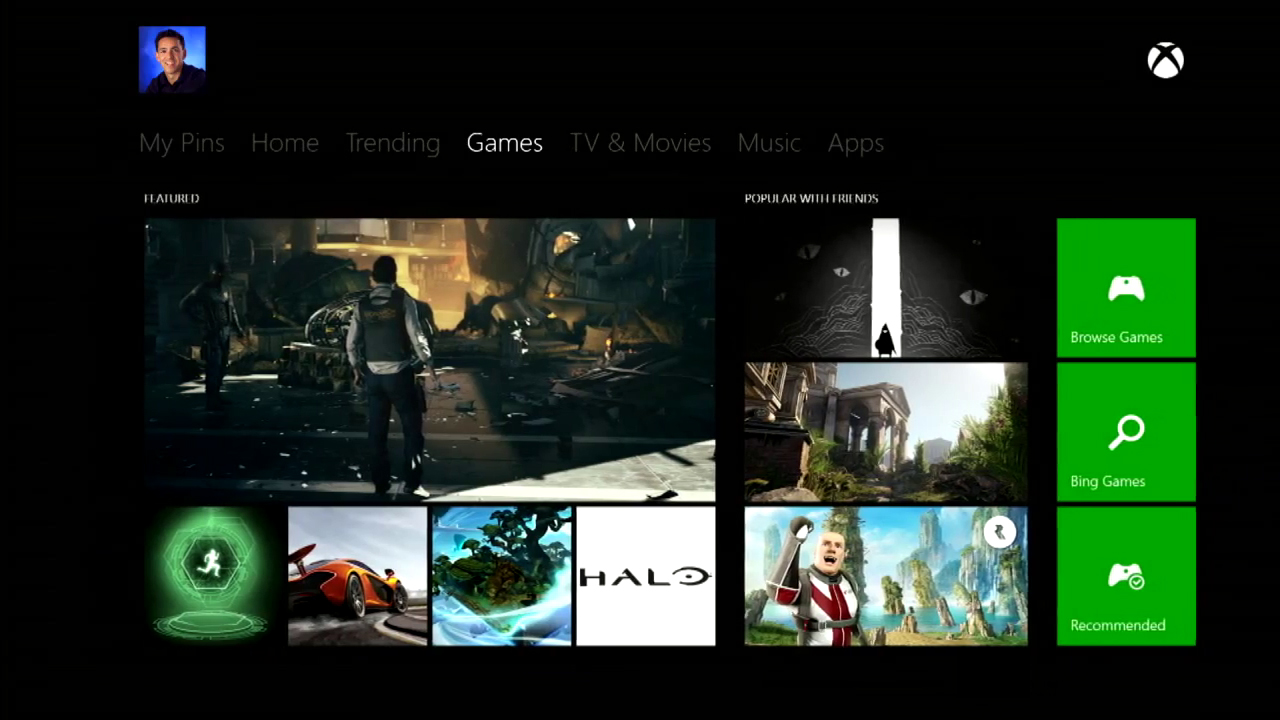 Xbox One: Guess the Games