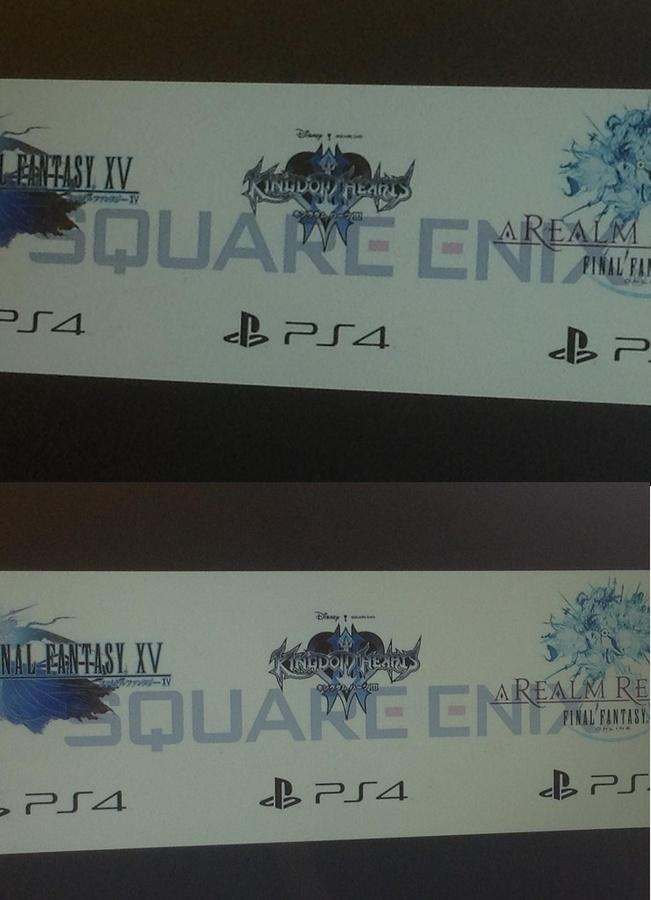 Kingdom Hearts 3, FF X...