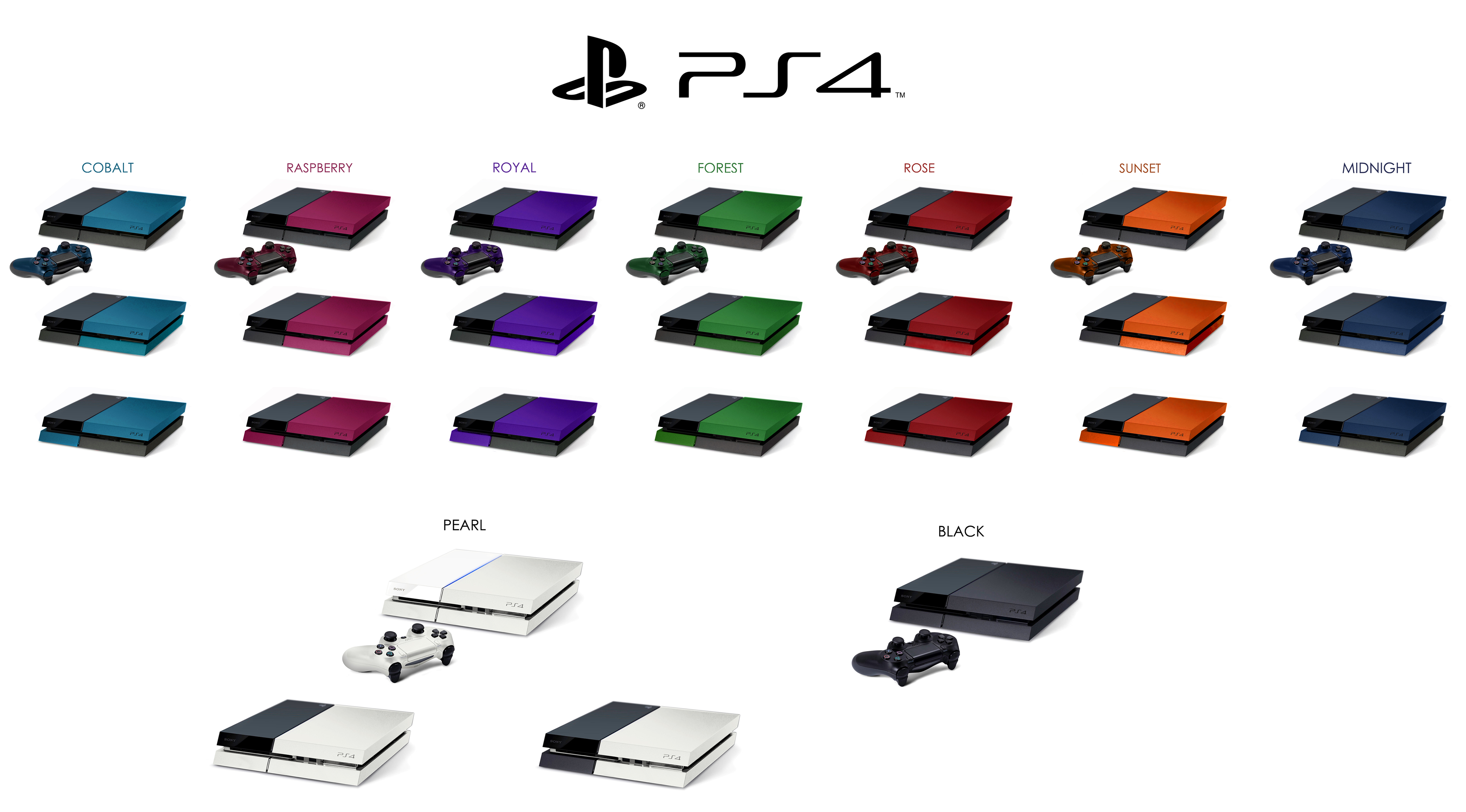 des ps4 de toutes les couleurs sur le forum playstation 4 04 07 2013 23 40 57. Black Bedroom Furniture Sets. Home Design Ideas