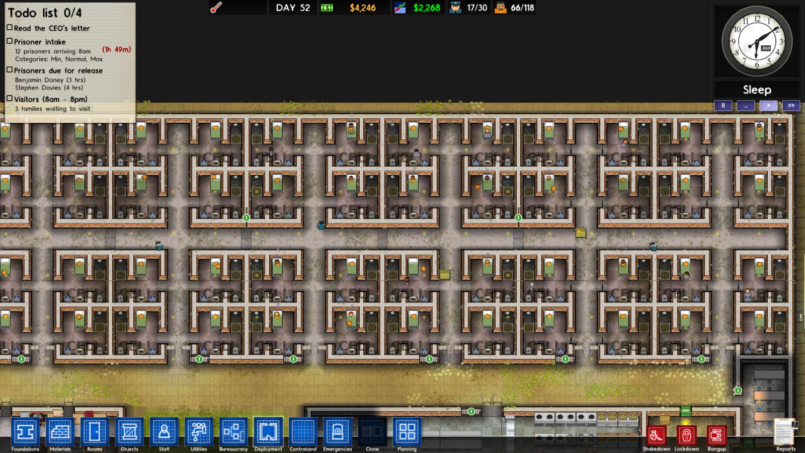 screen vos prisons sur le forum prison architect 08 08 2013 18 33 20. Black Bedroom Furniture Sets. Home Design Ideas