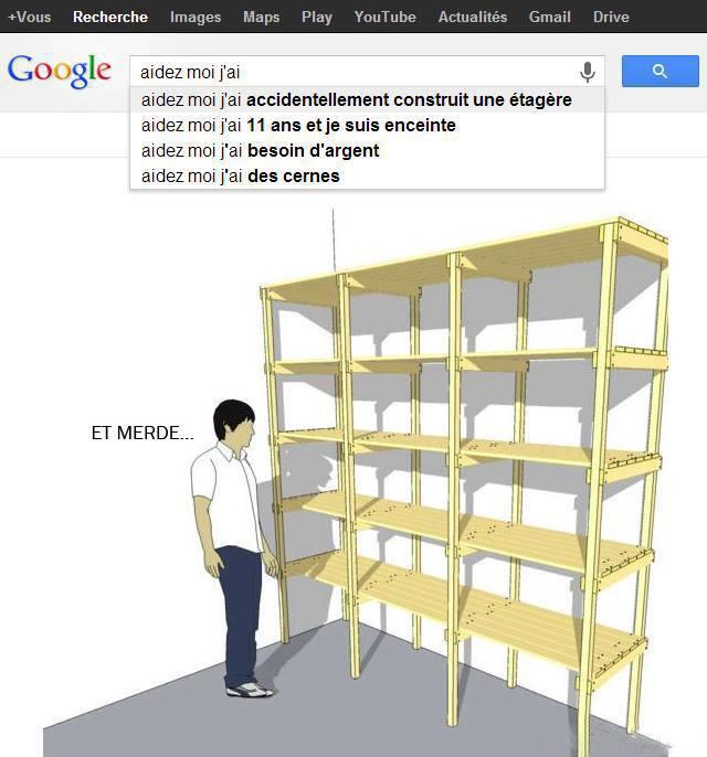 """Résultat de recherche d'images pour """"aidez moi j'ai accidentellement construit une armoire"""""""