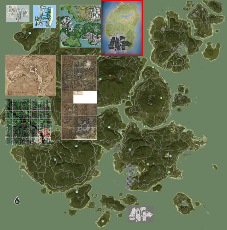 Comparaison maps GTA 5 / SA / RDR - 361.5KB