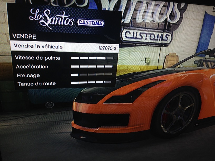 comment vendre sa voiture sur gta 5 voitures. Black Bedroom Furniture Sets. Home Design Ideas