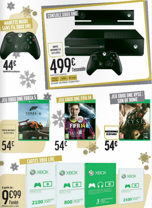 geant casino manette xbox one
