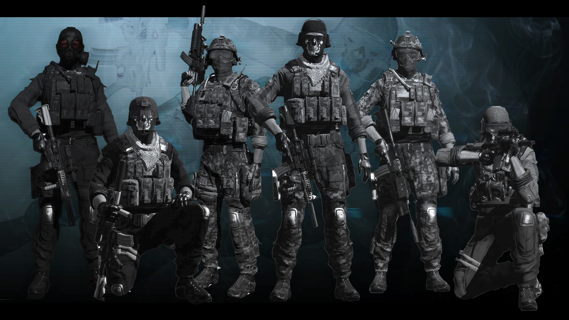 Cod ghost team 19201080 loadouts pinterest cod sciox Gallery