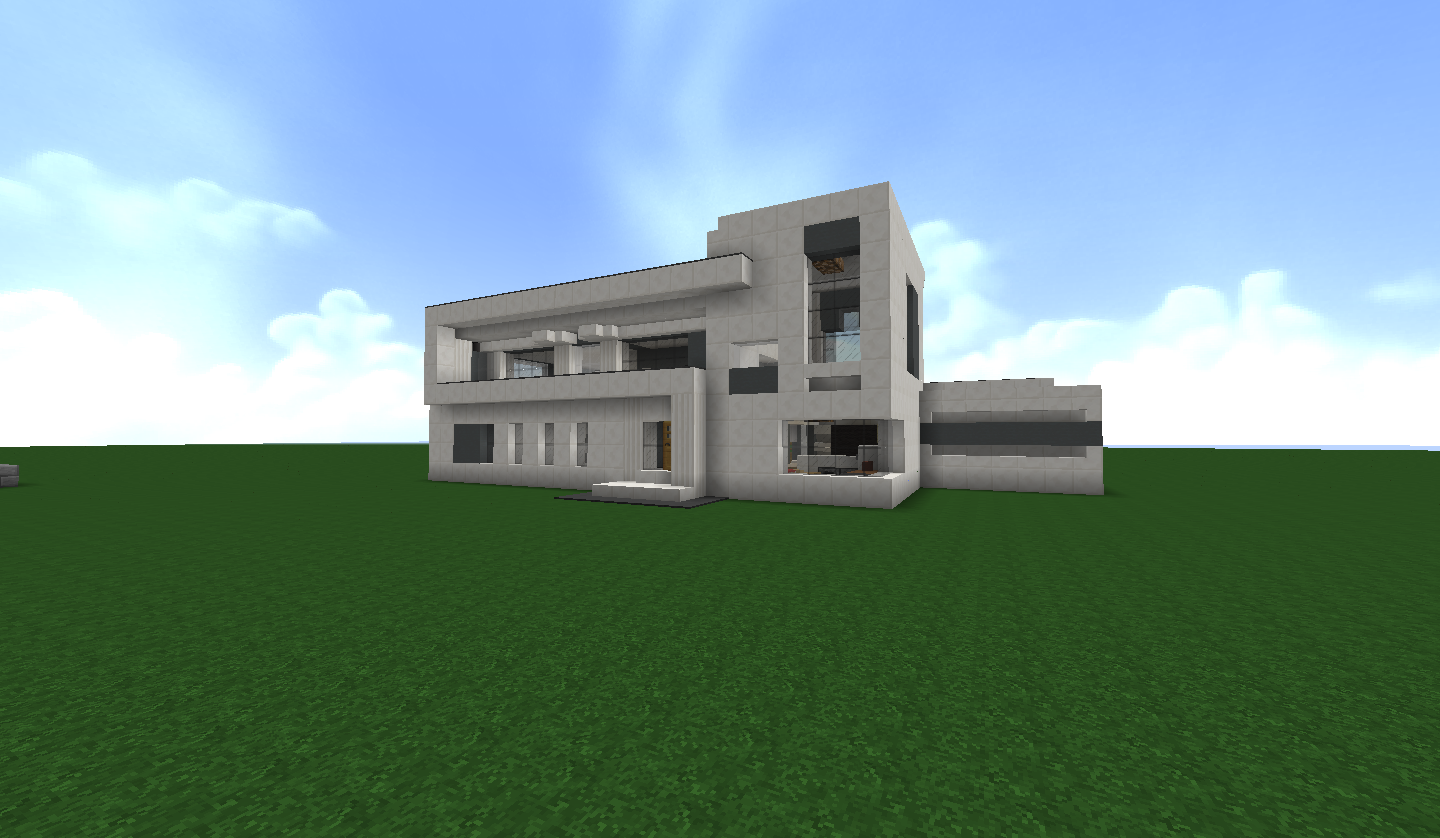 Beautiful minecraft construction de maison de luxe contemporary awesome int - Comment faire une maison de luxe sur minecraft ...