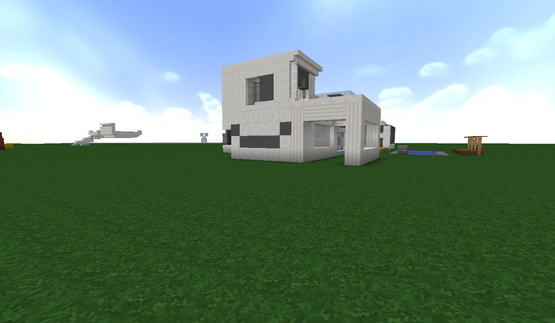 maison moderne (choix de matériaux) svp? sur le forum Minecraft - 06 ...