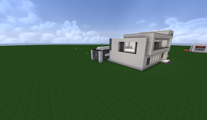 Maison moderne choix de mat riaux svp sur le forum minecraft 06 03 2014 12 32 23 - Materiaux de maison ...