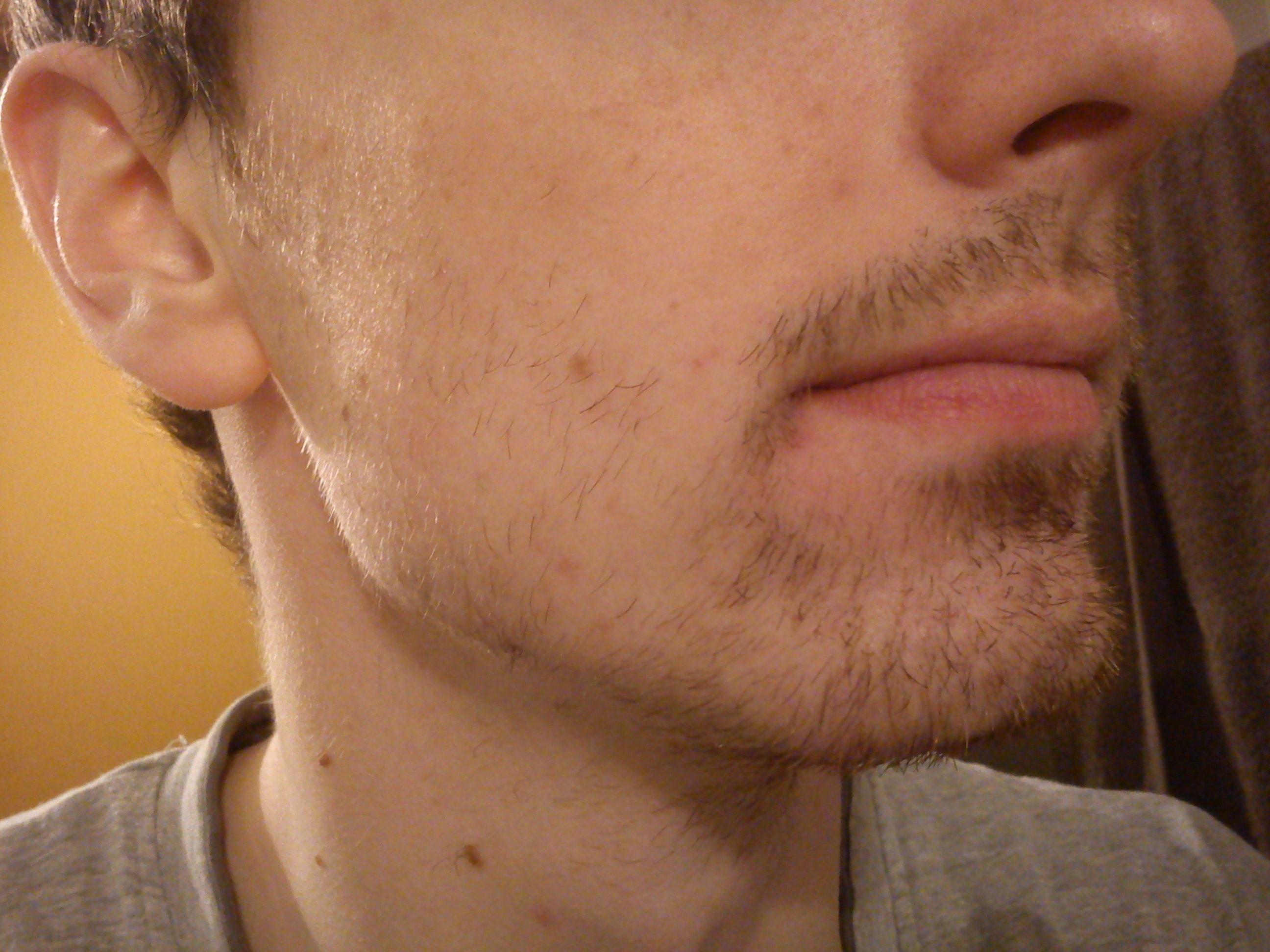 duvet de barbe