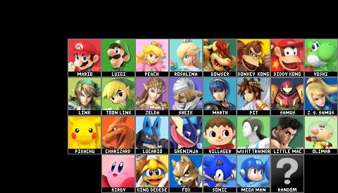Le Super Smash Bros. Roster Maker (Version 11.0 disponible!!!) - Page 10 1397384861-3ds-roster