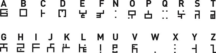 Alphabets amaknéen (de l'an 397 à l'an 988), draconique et brâkmarien 1398600369-alphabet