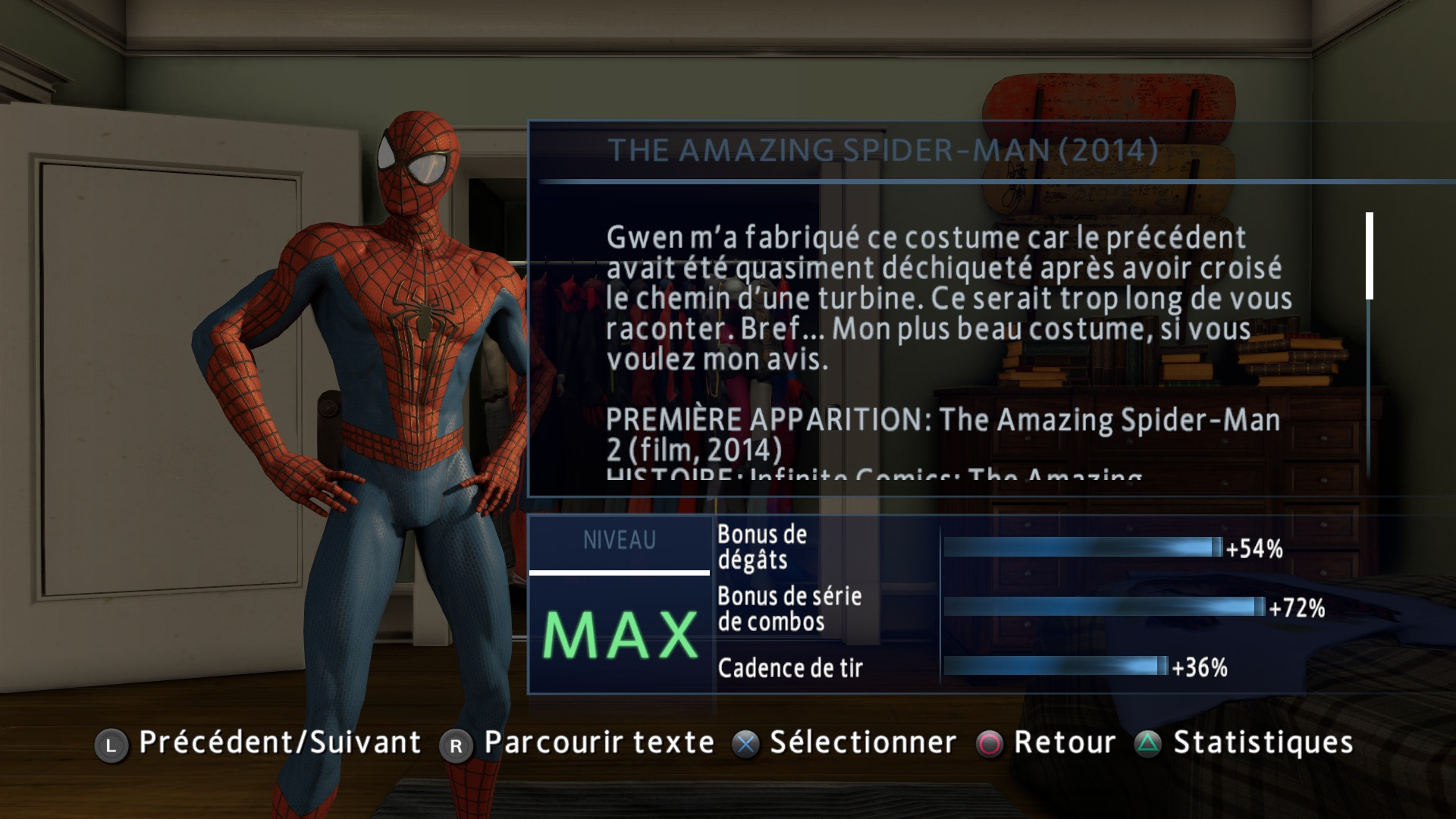 La tour des h ros afficher le sujet jeu vid o the - Les jeux de spiderman 4 ...