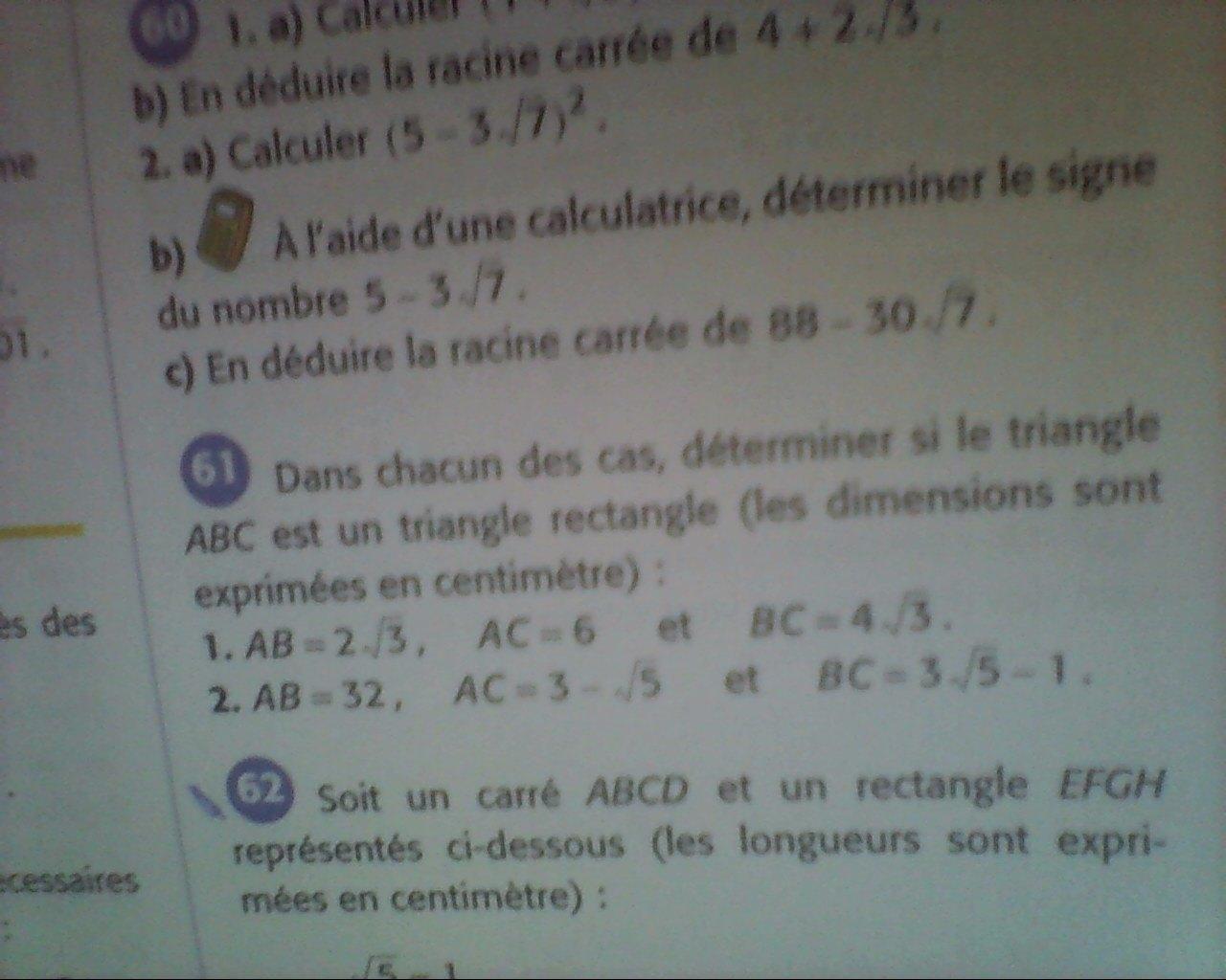 EXERCICE 3 urgent - Mathématiques - E-Bahut - site d'aide ...