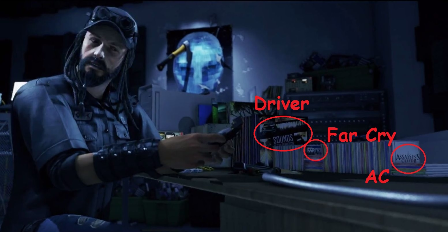 Watch Dogs Driver San Fransisco Easter Egg