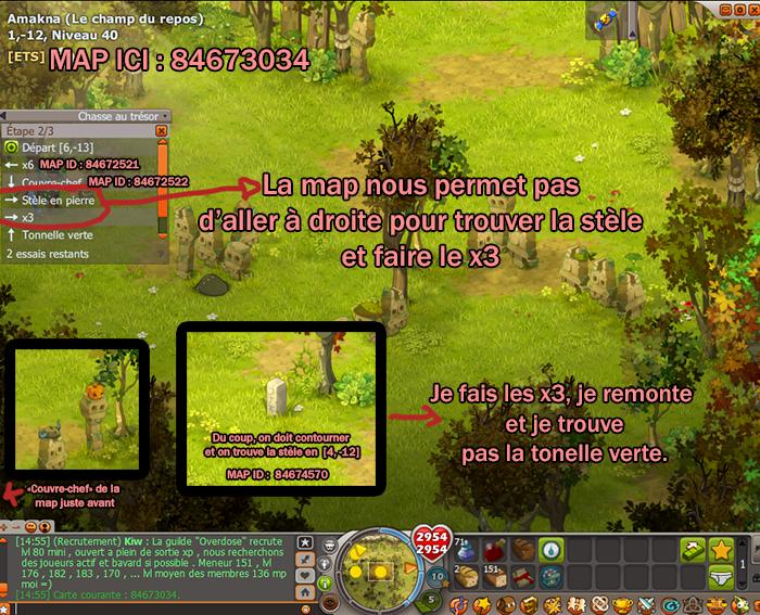 aux trésors  signalements  Forum  DOFUS, le MMORPG stratégique