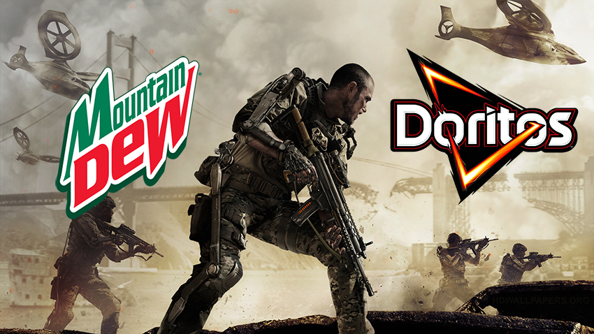 Mountain dew doritos and call of duty advanced warfare mountain dew