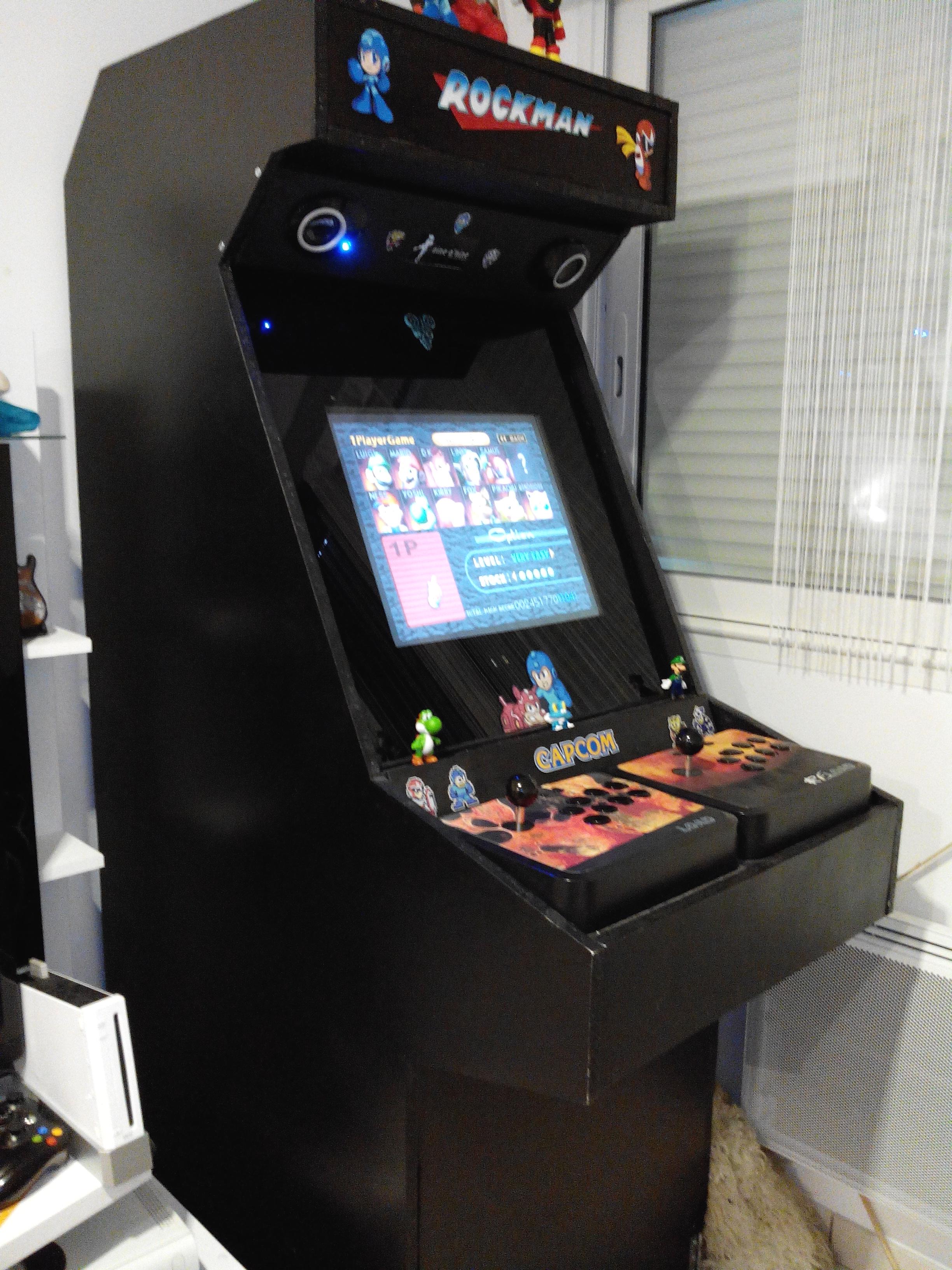 borne arcade a faire soi meme