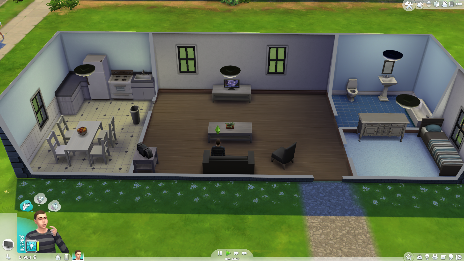 Id e maison sims 4 20170521143625 for Decoration maison sims 4