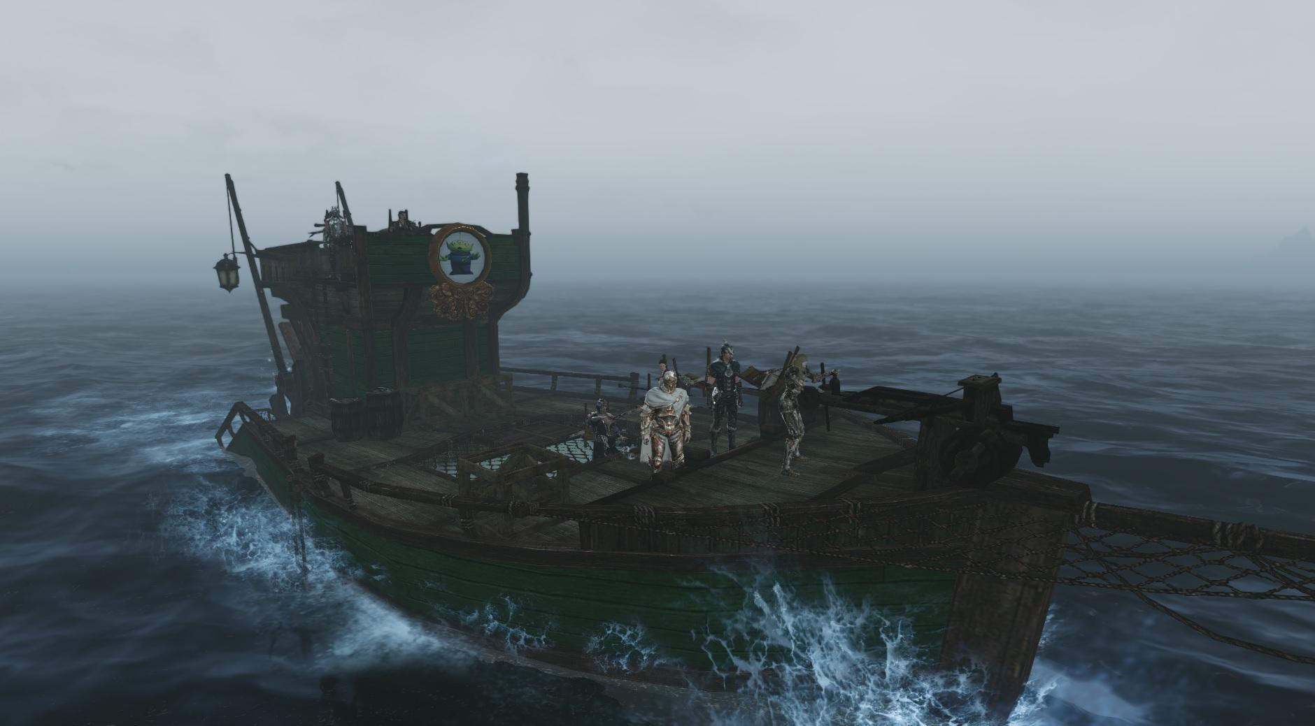 bateau de peche archeage