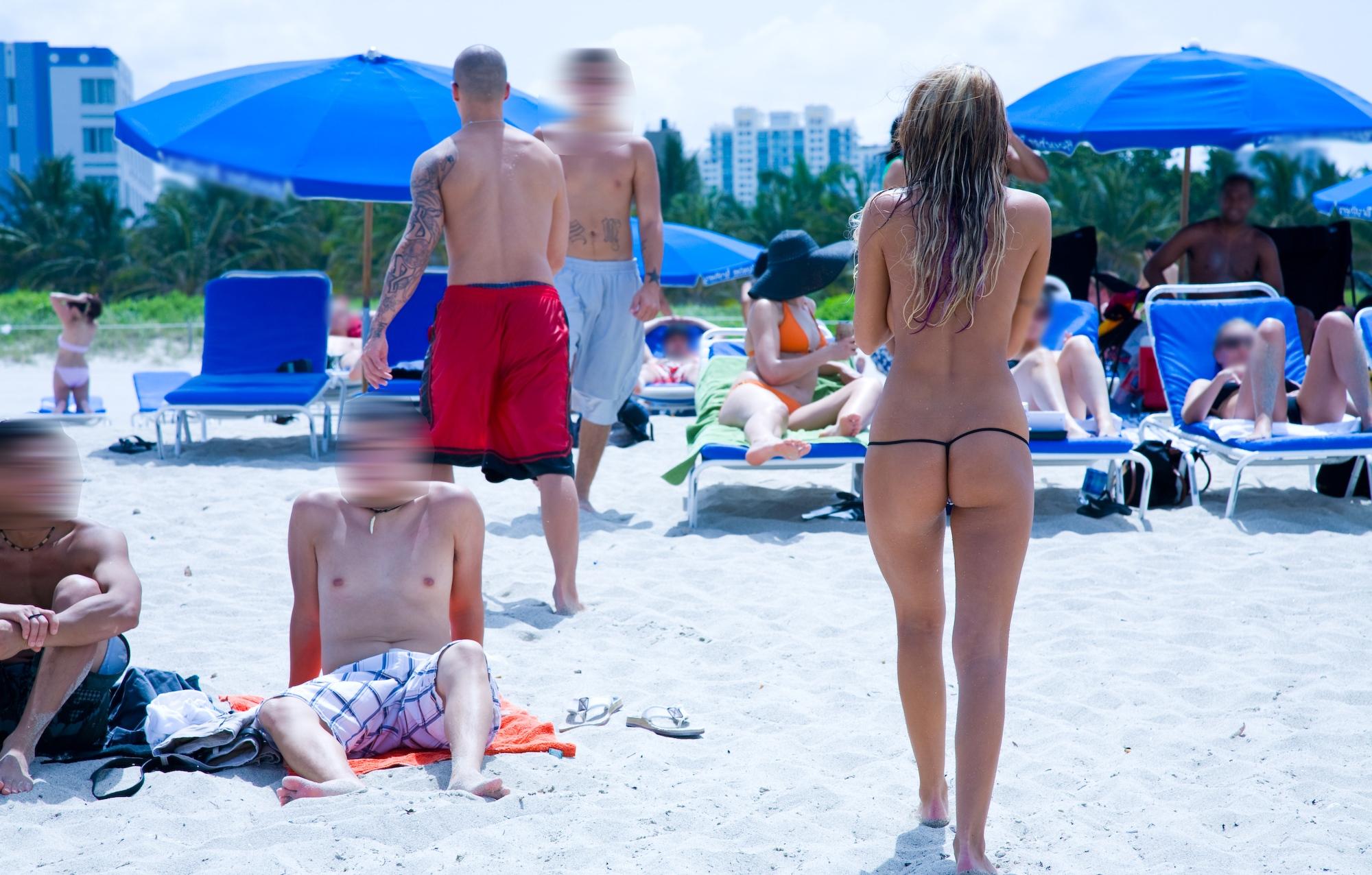 pute dans le gard femme en string a la plage