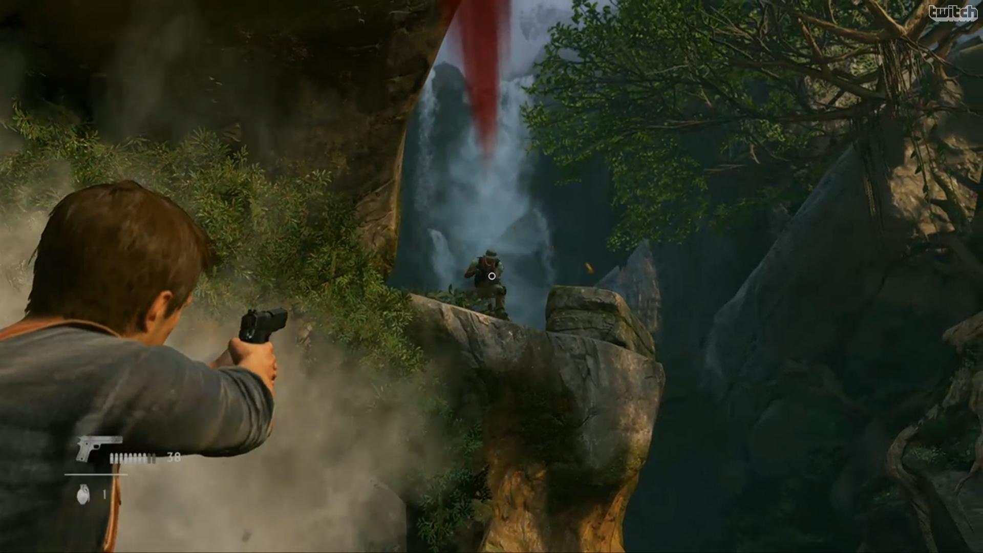 《神秘海域4》playstation体验会超清截图情报