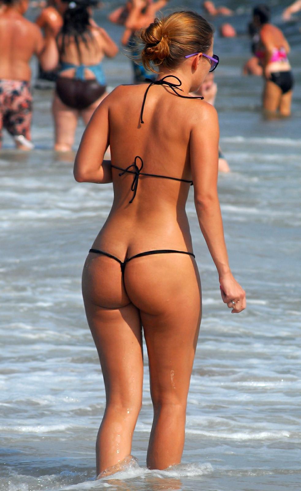 femme en string a la plage les salopes de 18 ans