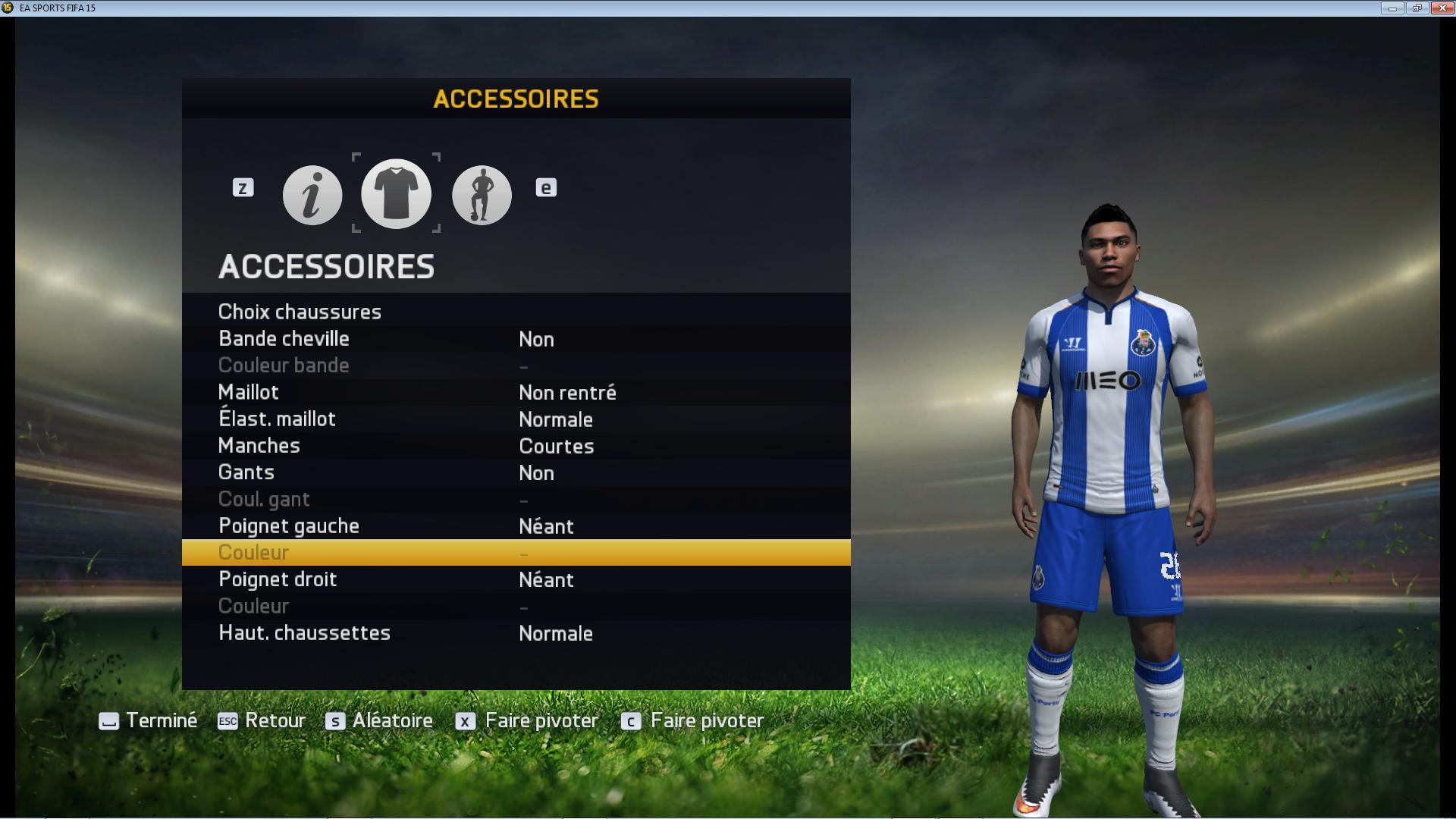 Maillot FC Porto D. Reyes
