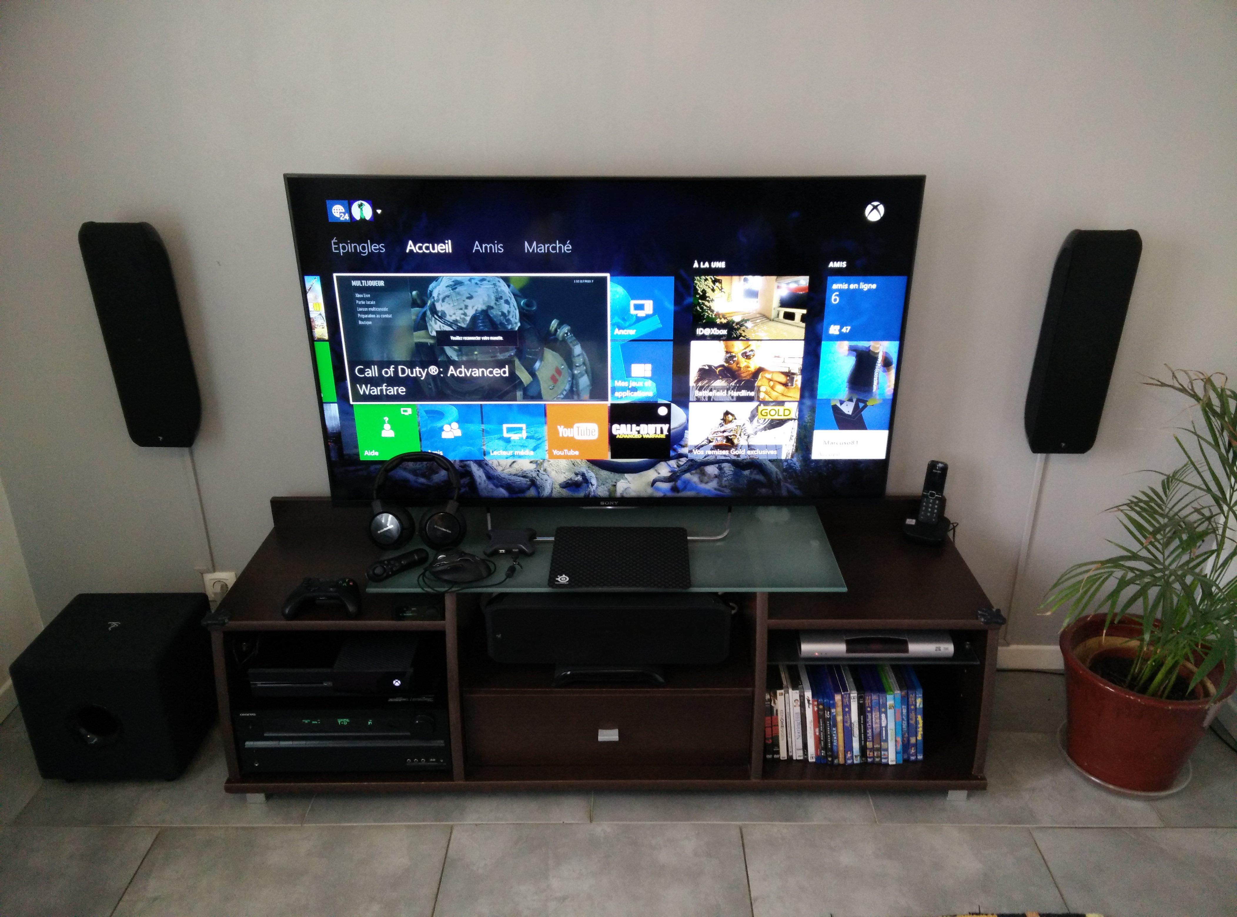 Votre Petit Coin Gamer Sur Le Forum Xbox One 09 08 2012 11 11 31  # Meuble Tv Gamer