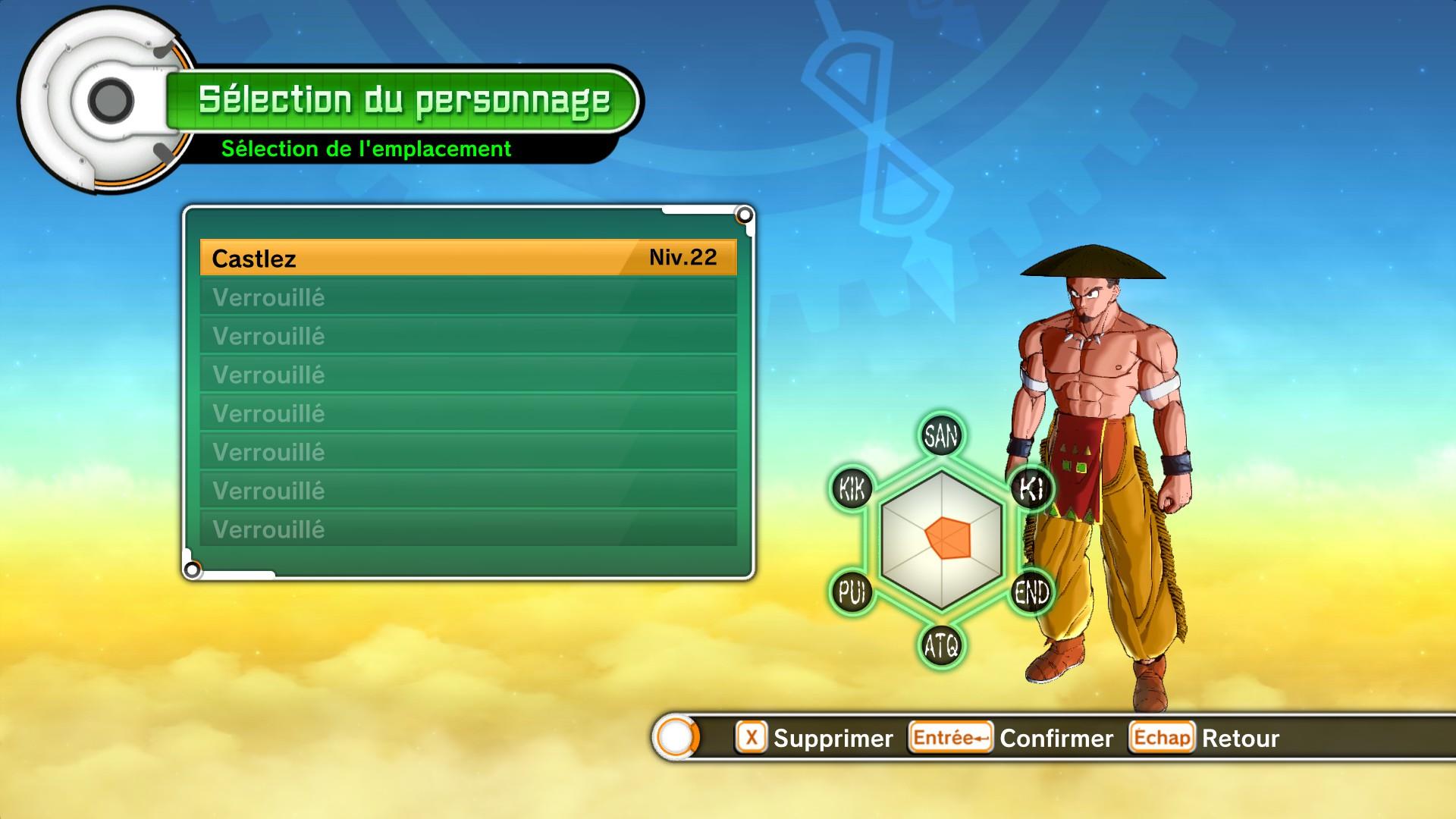 astuce dragon ball xenoverse comment d u00e9verrouiller les emplacements de personnages sur jeuxvideo com