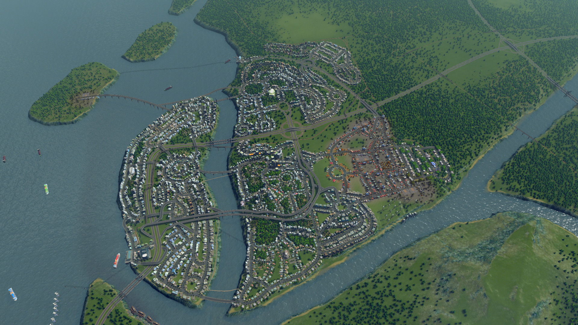 Cities Skylines Grande Ville